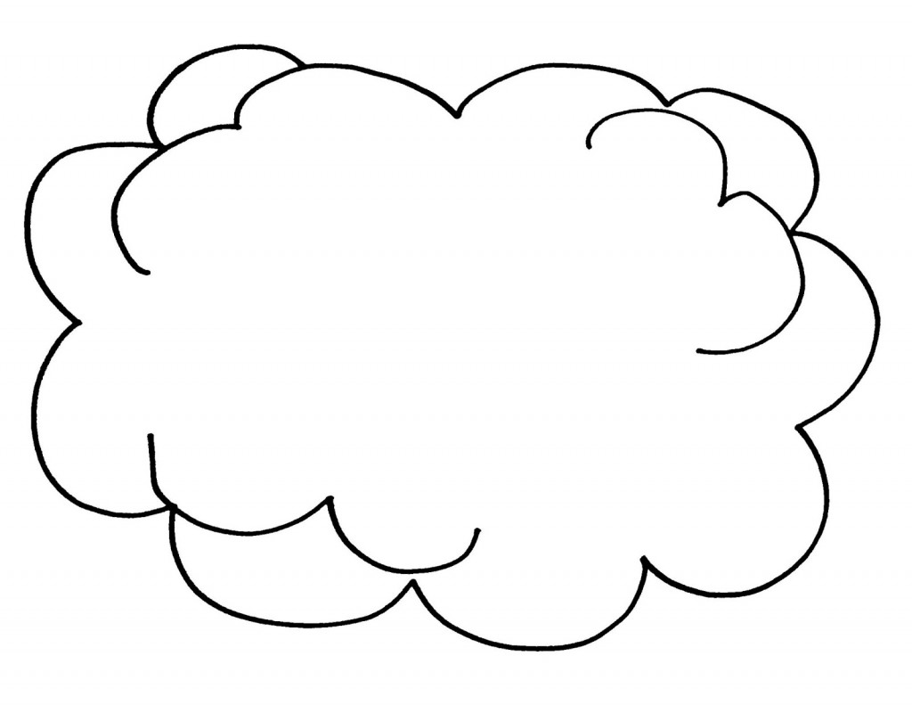 White Cloud coloring #5, Download drawings