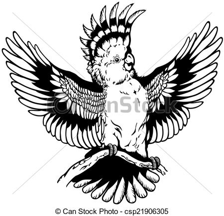 White Cockatoo clipart #4, Download drawings