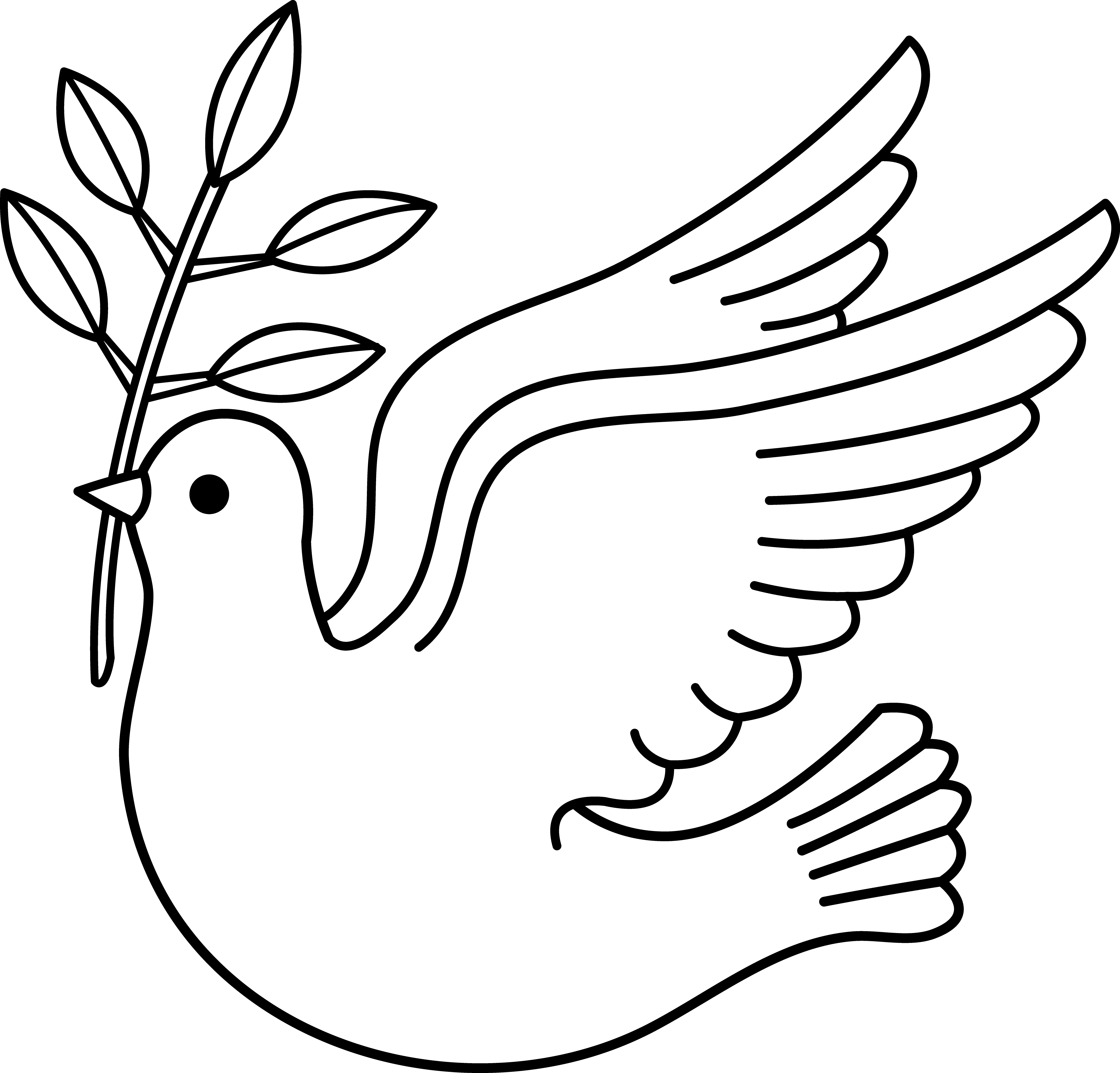 White Dove clipart #6, Download drawings