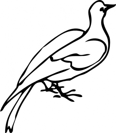 White Dove clipart #13, Download drawings