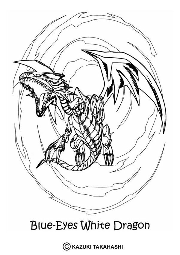 White Dragon coloring #12, Download drawings