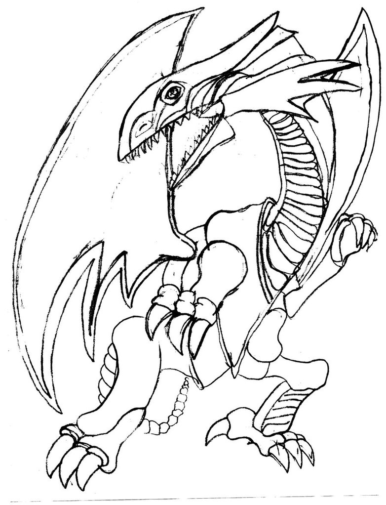 White Dragon coloring #13, Download drawings