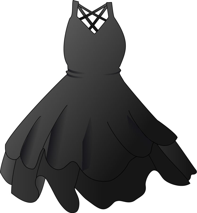 White Dress svg #5, Download drawings