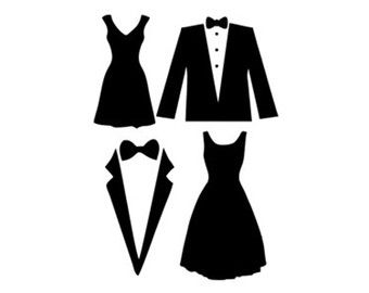 White Dress svg #3, Download drawings