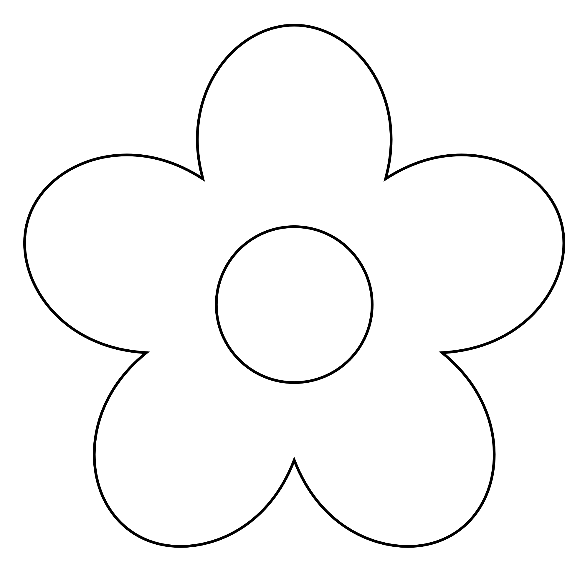 White Flower clipart #9, Download drawings