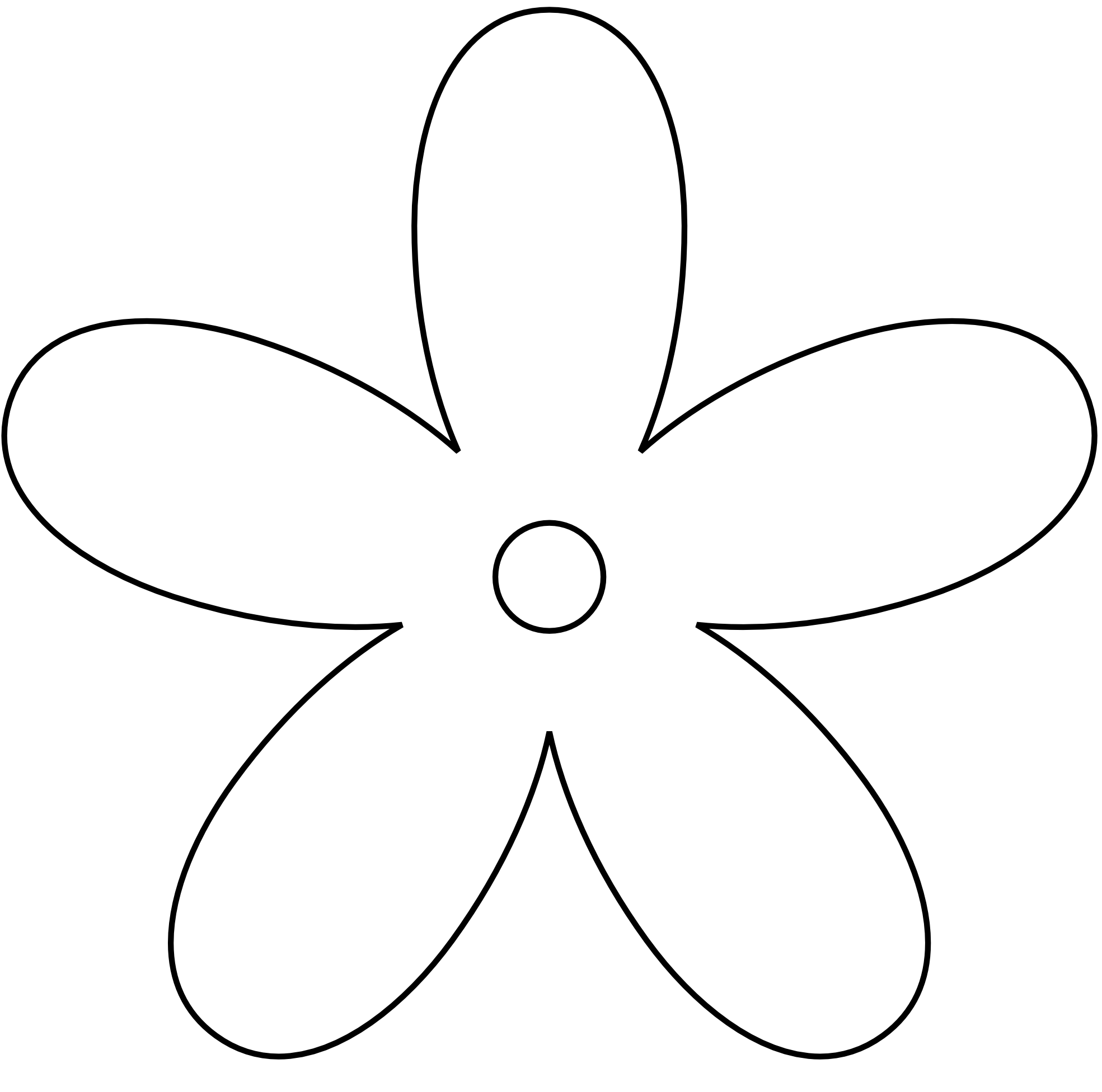 White Flower clipart #2, Download drawings