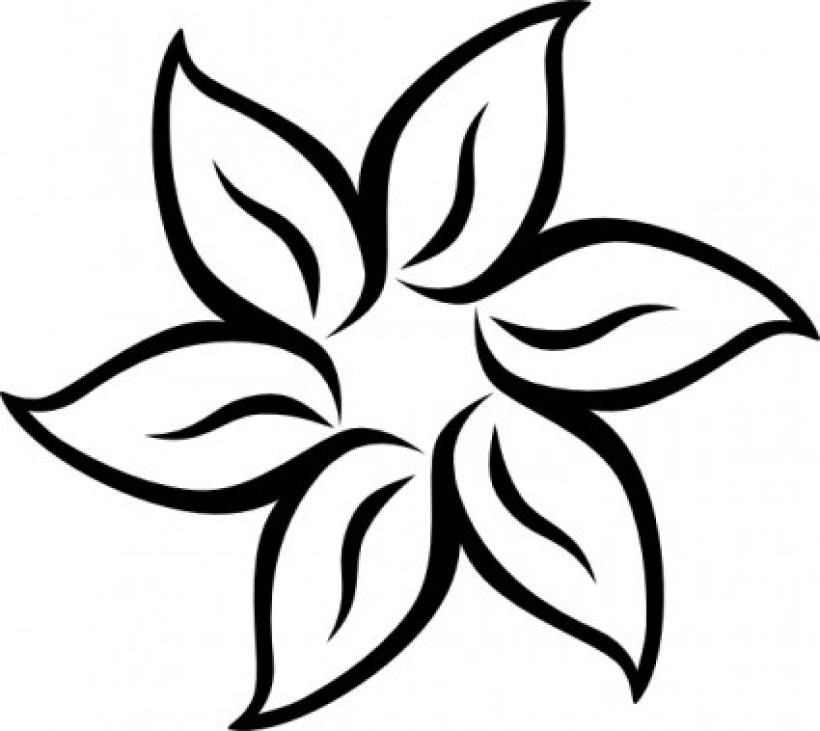 White Flower clipart #4, Download drawings
