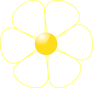 White Flower clipart #5, Download drawings
