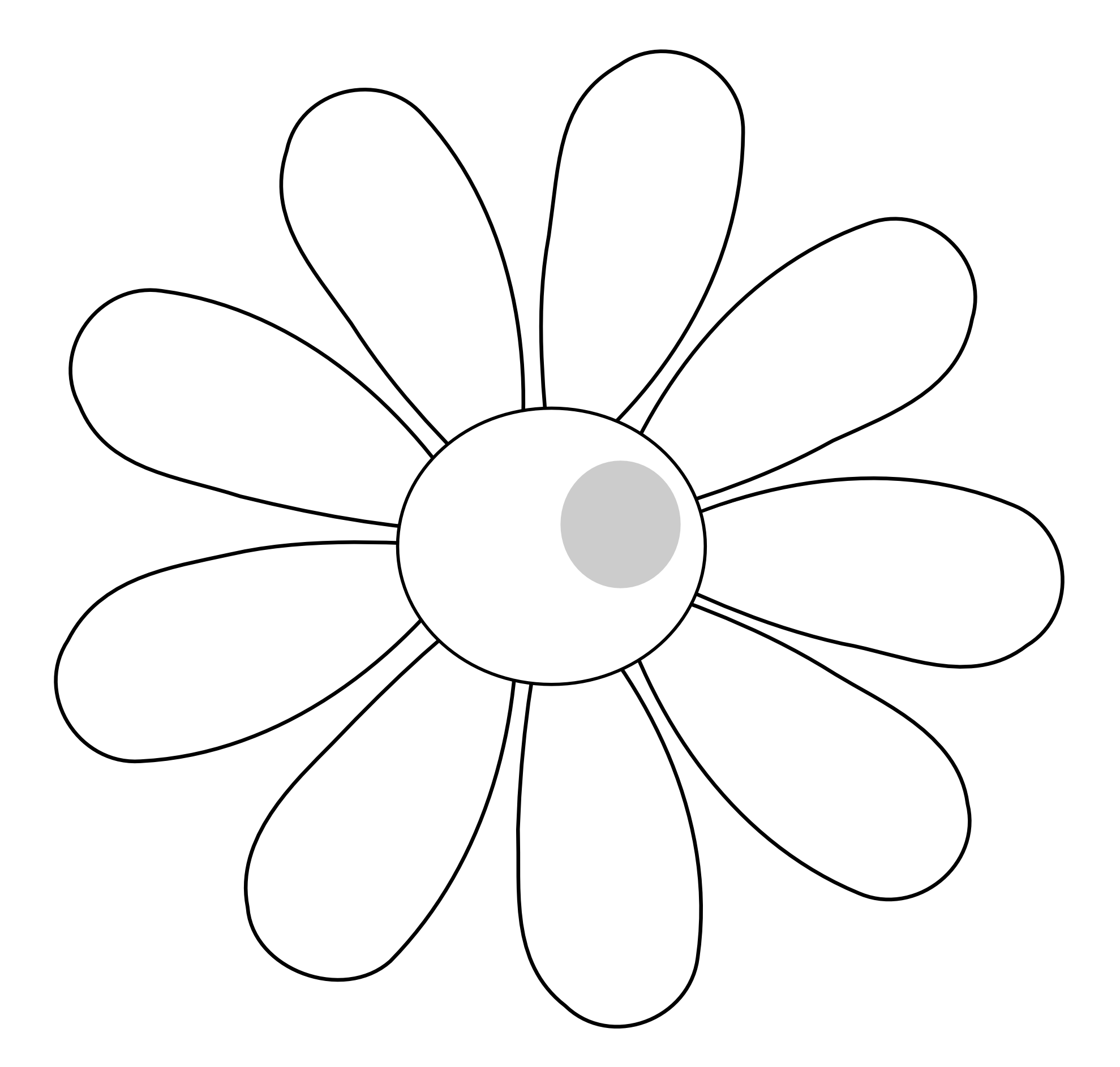 White Flower svg #13, Download drawings
