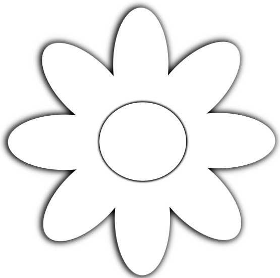 White Flower svg #18, Download drawings