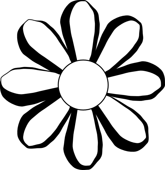 White Flower svg #17, Download drawings