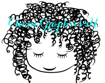 White Hair svg #15, Download drawings