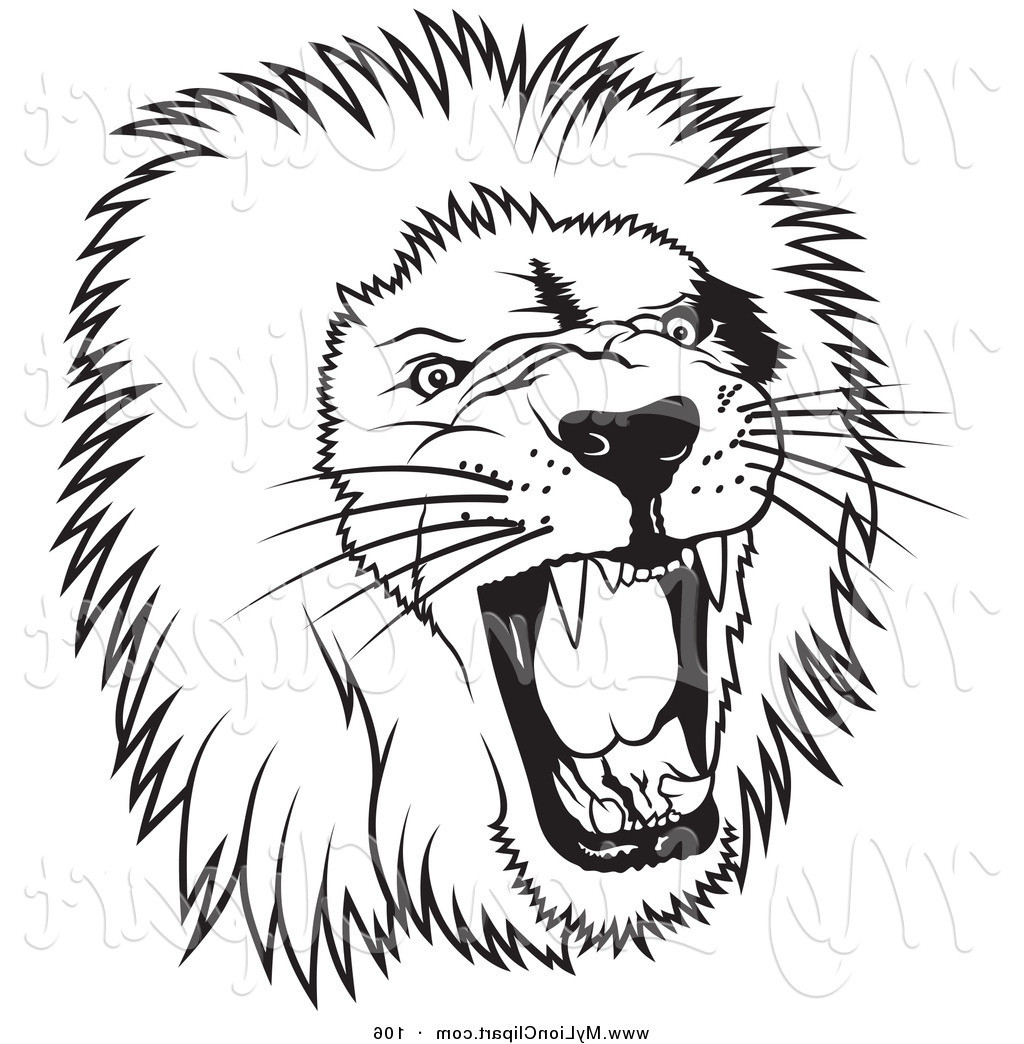 White Lion clipart #2, Download drawings