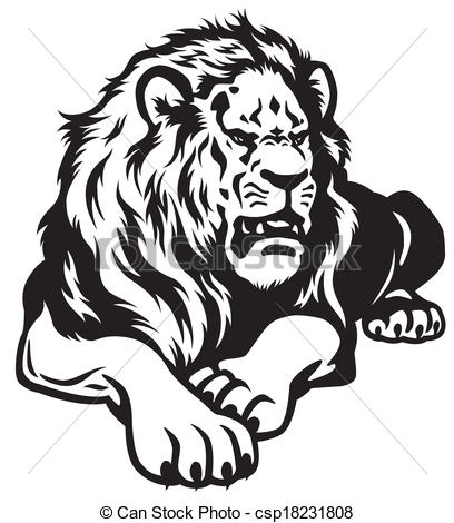 White Lion clipart #11, Download drawings