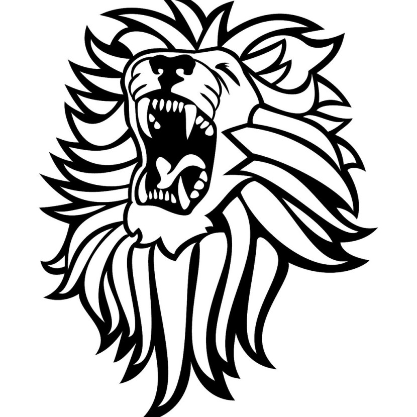 White Lion clipart #5, Download drawings
