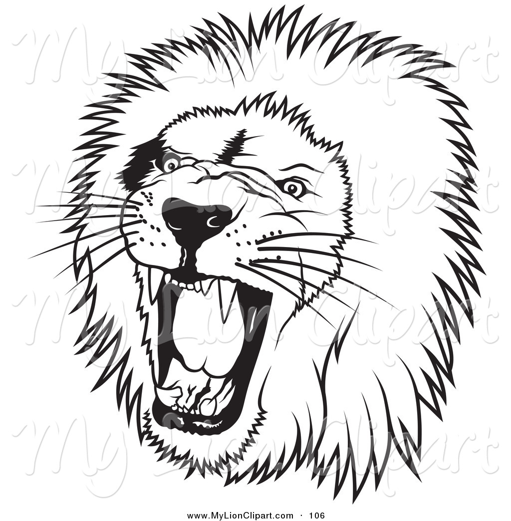 White Lion clipart #12, Download drawings