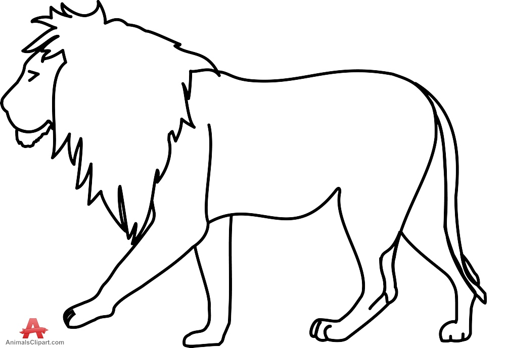 White Lion clipart #9, Download drawings