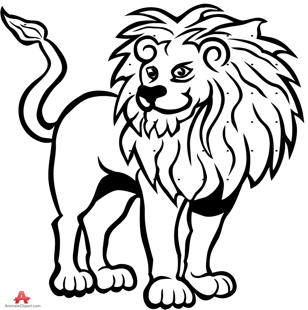 White Lion clipart #3, Download drawings