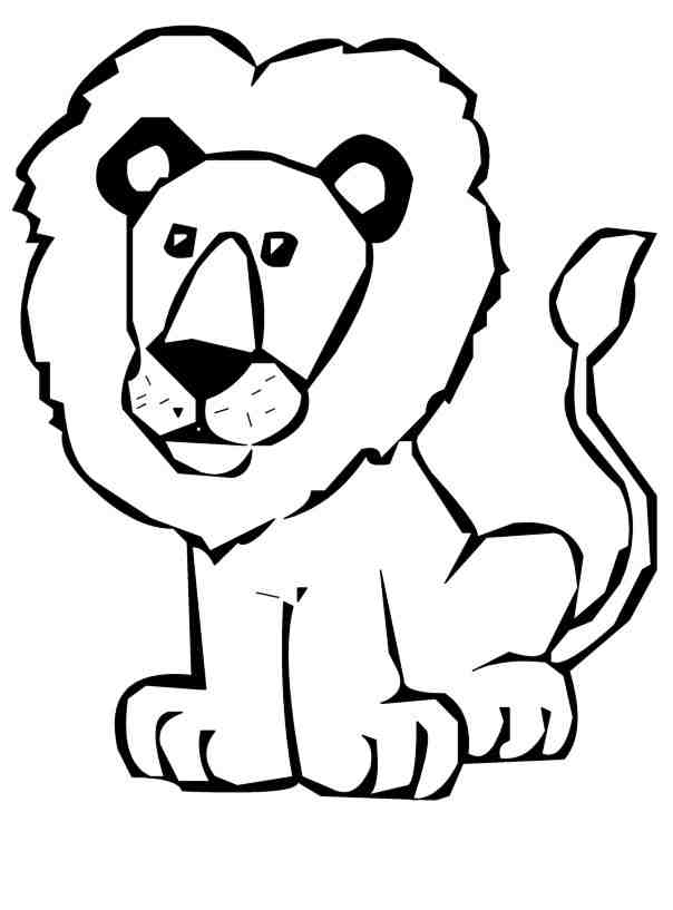White Lion clipart #8, Download drawings