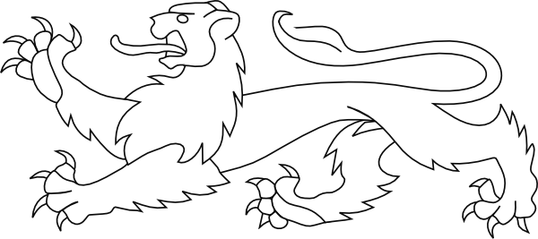 White Lion svg #7, Download drawings