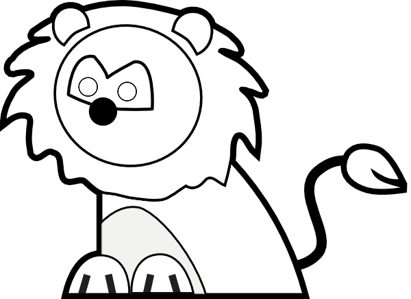 White Lion svg #16, Download drawings