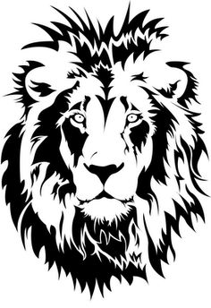 White Lion svg #11, Download drawings