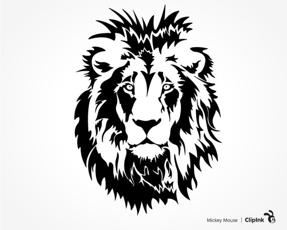 White Lion svg #14, Download drawings