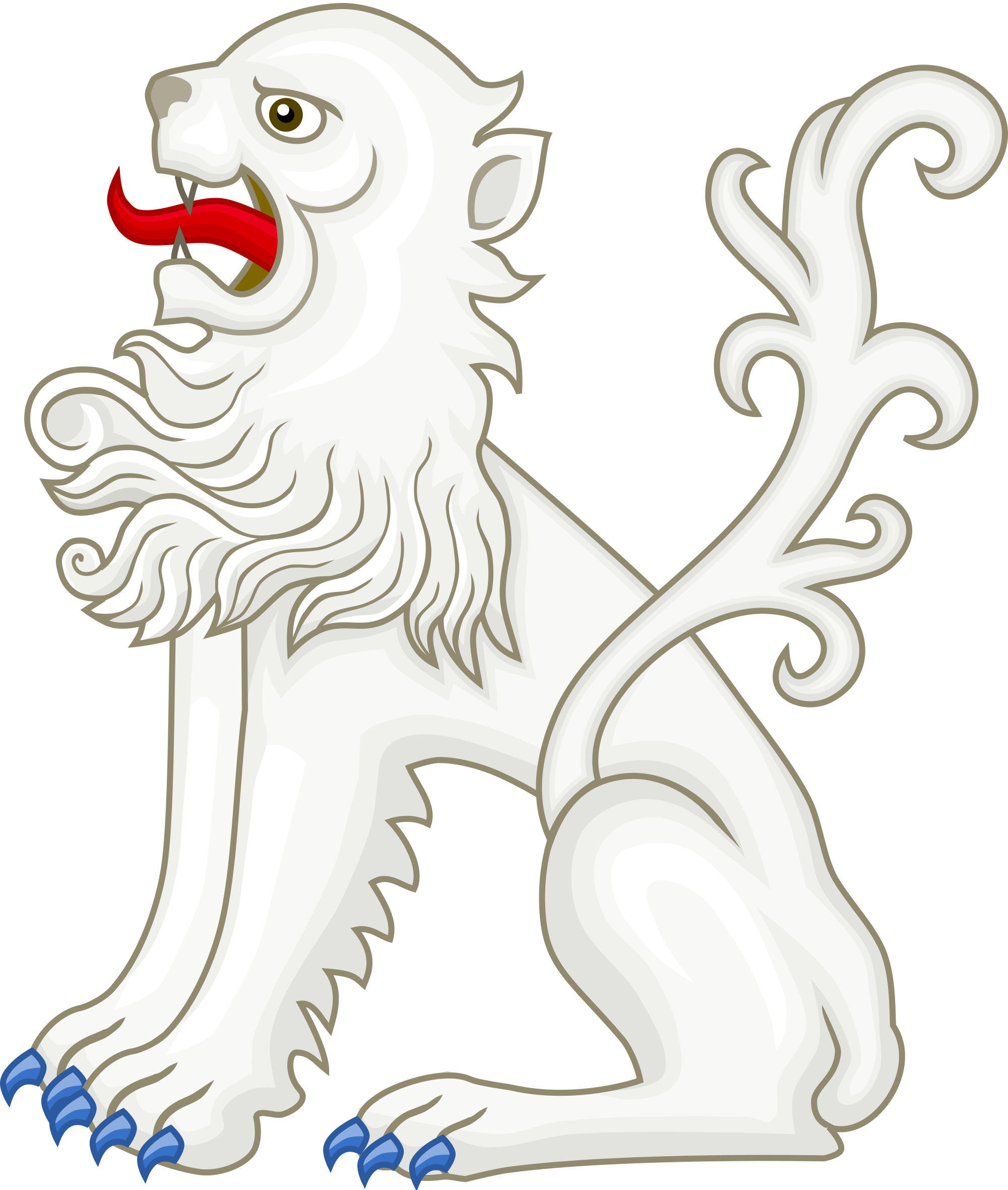 White Lion svg #18, Download drawings
