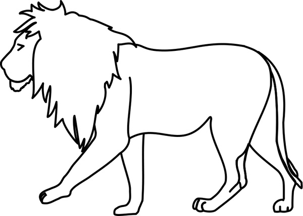 White Lion svg #5, Download drawings