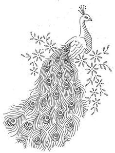 White Peafowl clipart #2, Download drawings