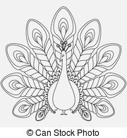 White Peafowl clipart #9, Download drawings