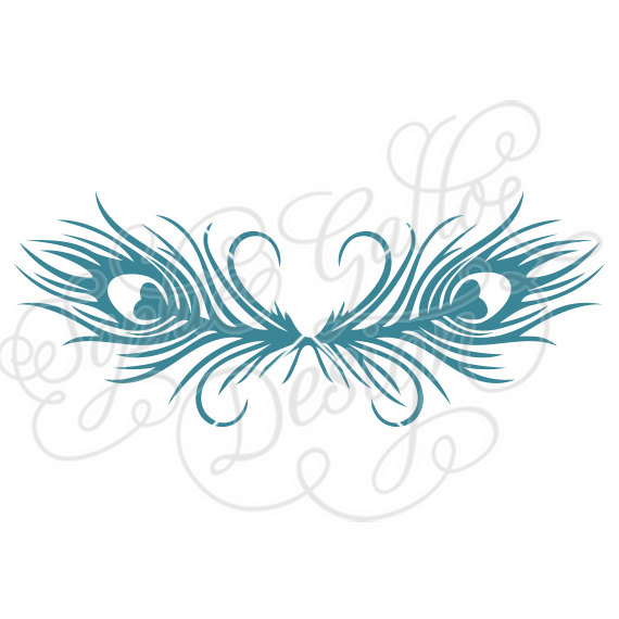 White Peafowl svg #3, Download drawings