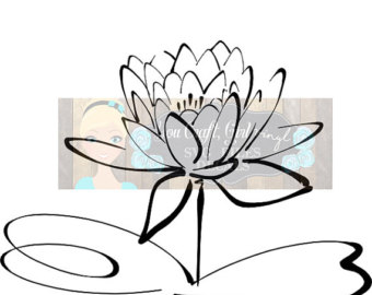 White Rain Lily svg #10, Download drawings