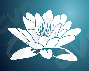 White Rain Lily svg #16, Download drawings