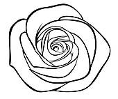 White Rose clipart #5, Download drawings