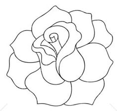 White Rose coloring #3, Download drawings