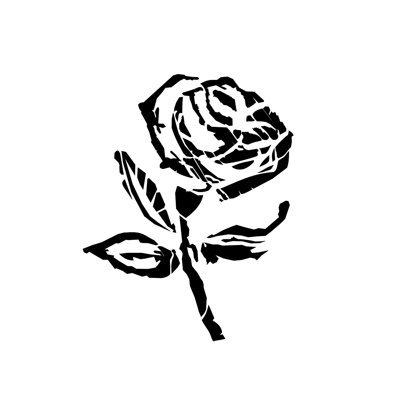 White Rose svg #6, Download drawings