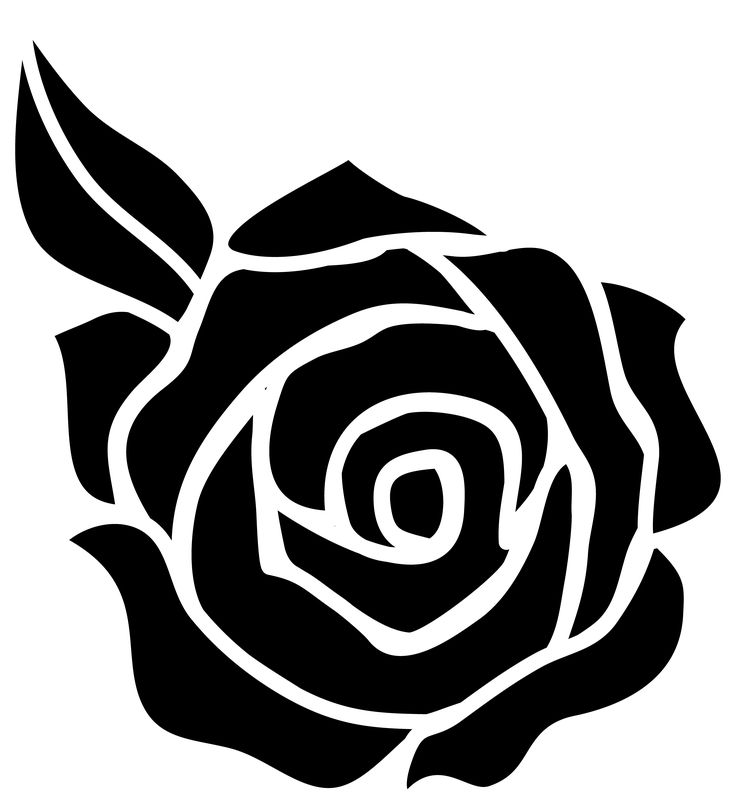 White Rose svg #2, Download drawings