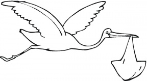 White Stork clipart #8, Download drawings
