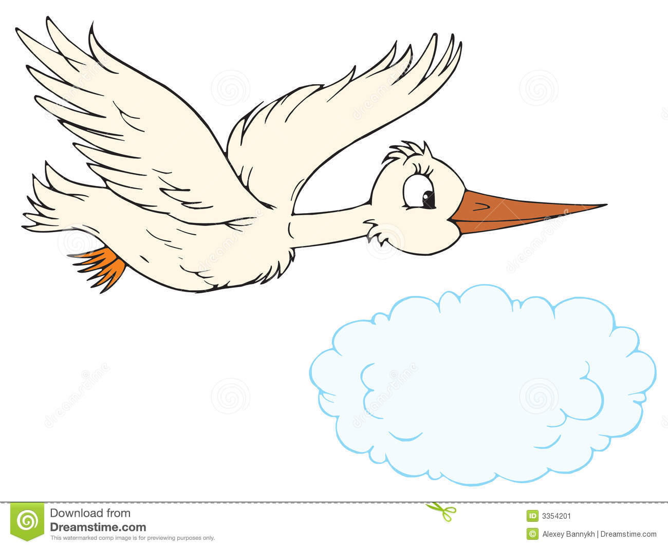 White Stork clipart #17, Download drawings