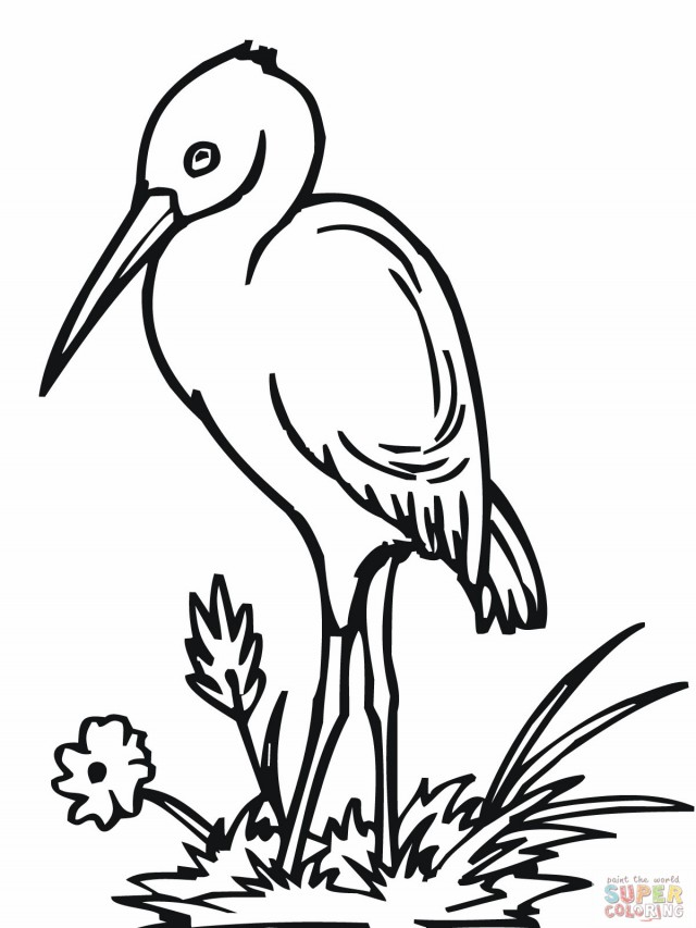 White Stork clipart #3, Download drawings