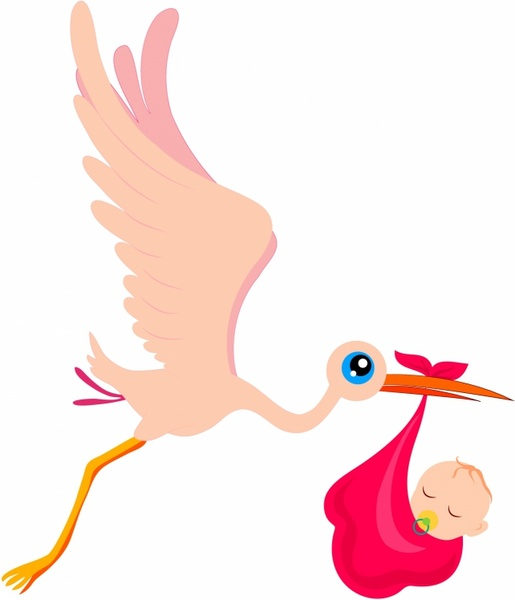 White Stork svg #6, Download drawings