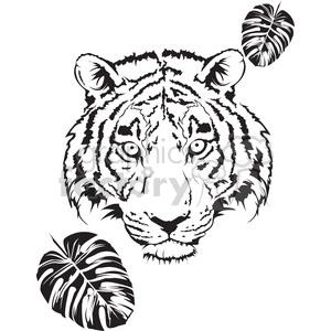 White Tiger svg #4, Download drawings