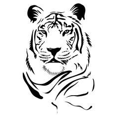 White Tiger svg #12, Download drawings