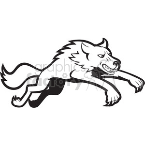 White Wolf svg #6, Download drawings
