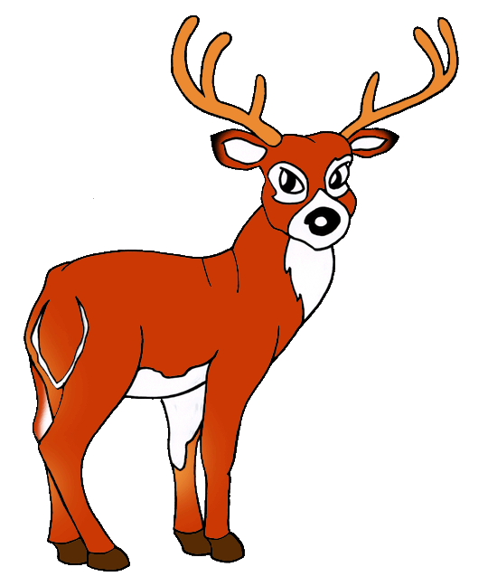 White-tailed Deer clipart #6, Download drawings