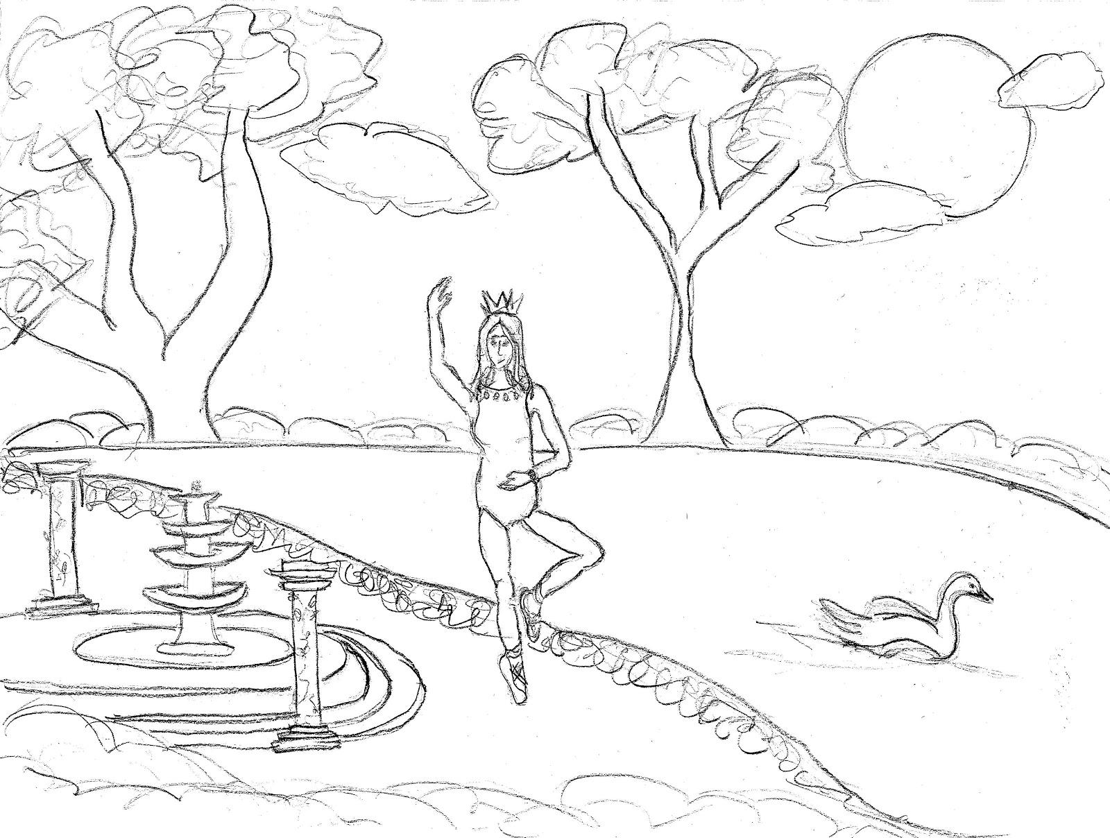 Whooper Swan coloring #18, Download drawings