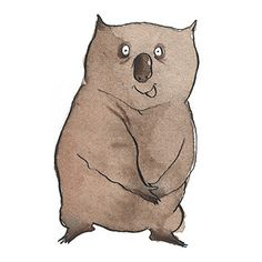 Whopping Wombat clipart #8, Download drawings
