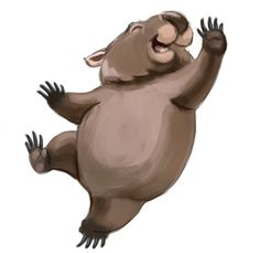 Whopping Wombat clipart #6, Download drawings