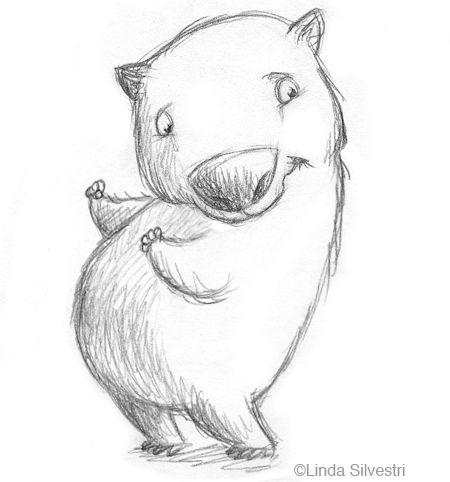 Whopping Wombat clipart #4, Download drawings